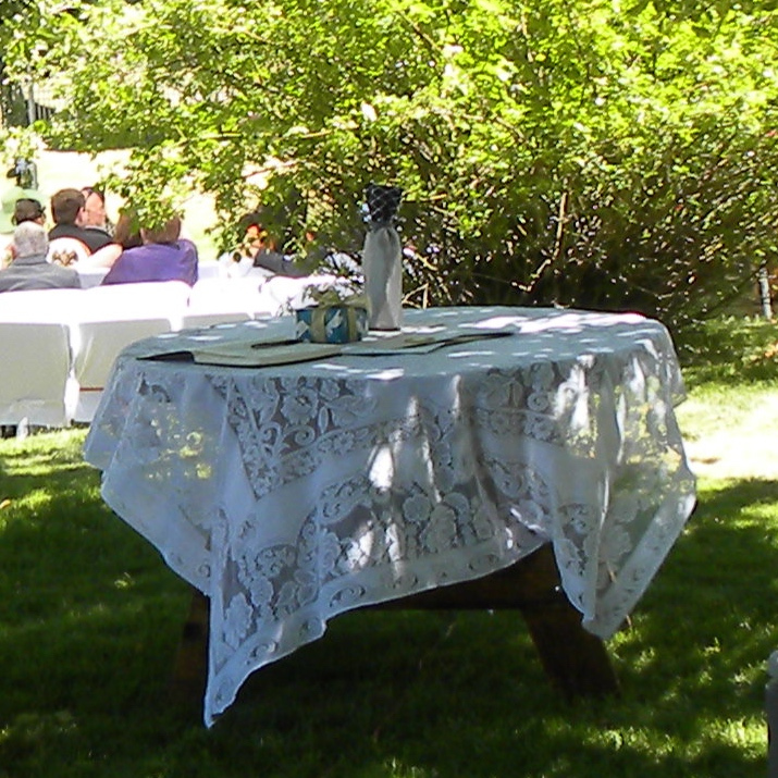 Mt. Shasta Weddings - Image of a Table