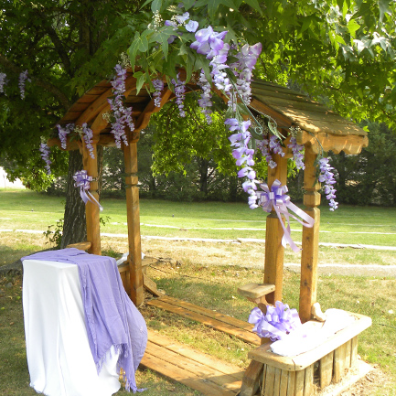 Mt. Shasta Weddings - Altar