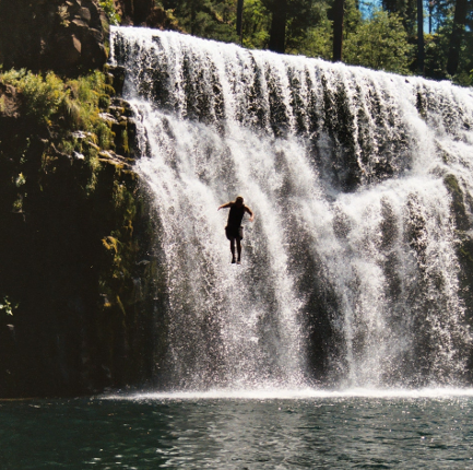 Things To Do in Mt. Shasta - Middle Falls on the McCloud