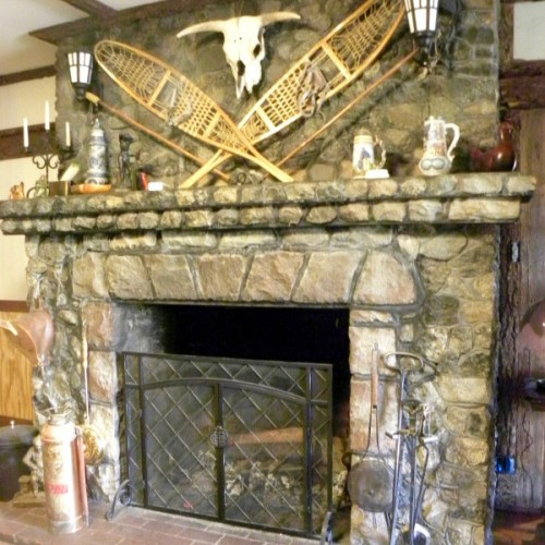 Shasta Starr Ranch - Main House Fireplace